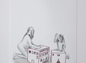 Déshabillant la maison (Homenaje a Louise Bourgeois), 2017