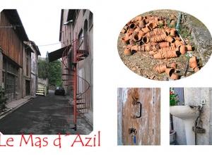 Serie Le Mas d´Azil inhabituel. Carte Postal, 2005