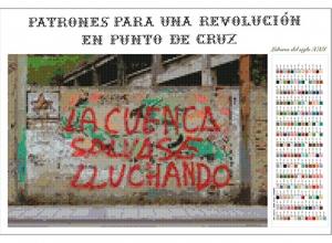 Patrones para una revolución en punto de cruz. La cuenca salvase lluchando. 2017